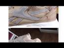 Реставрация Reebok Делаем из гладкой кожи замшу