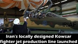 Iran Launches Mass Production of Kowsar Interceptor Jet - Defense Minister