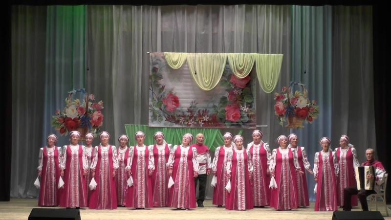 Народный хор ветеранов Поющие сердца песня Ой, ты рожь