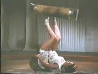 Жонглеры Виолетта и Александр Кисс 1953 год