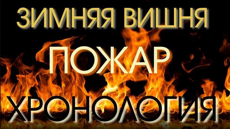 Пожар в Кемерово ТЦ Зимняя Вишня. Хронология событий