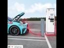 ABB зарядная подстанция для электромобилей Jaguar