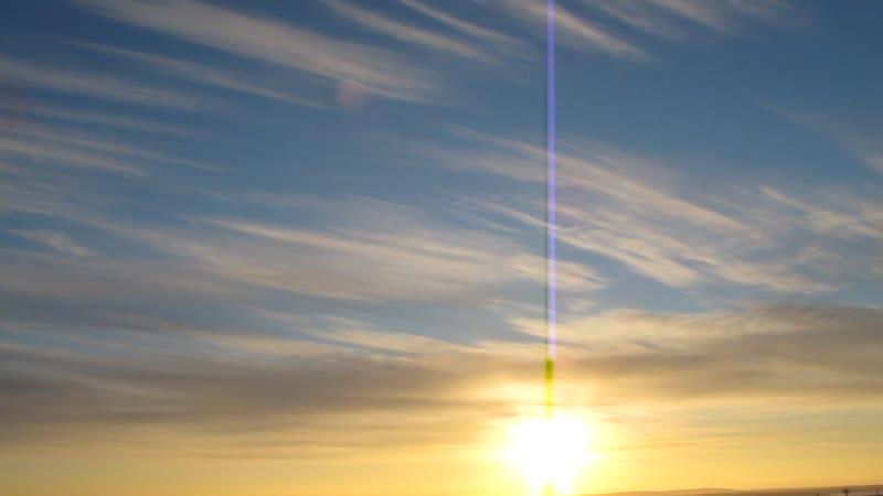 Апатиты Закат над озером Имандра