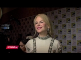 Aquaman- Nicole Kidman Dishes On Her First Comic-Con That Killer Costume - Access