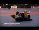 BLUE BELTS IBJJF NO-GI PAN NY 09.29.17 NY Girls Grappling Women Wrestling BJJ Female Match