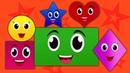 Formen Lied   Kinderlieder   Formen für Kinder   Learn Shapes   Educational Video   Shapes Song