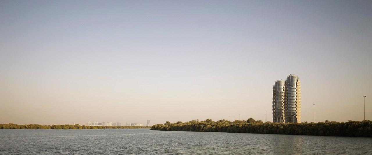 Aedas Architects /Башни Аль Бахар в Абу-Даби
