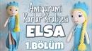 Amigurumi Karlar Kraliçesi Elsa Kol Bacak ve Gövde Yapılışı 1 5