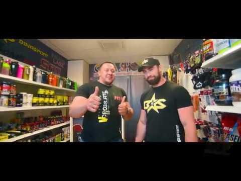 Михаил Кокляев и Владислав Ригерт на открытии второго магазина Cuba Shop
