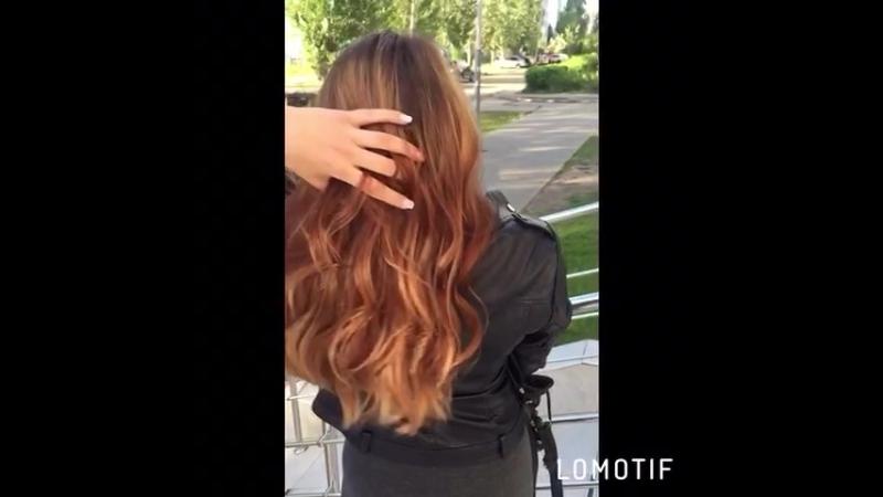 Работа в технике Балаяж и тонирование Wella illumina ➕ уход для окрашенных волос Wella professional