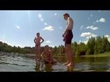 один день моржей на озере Барковском
