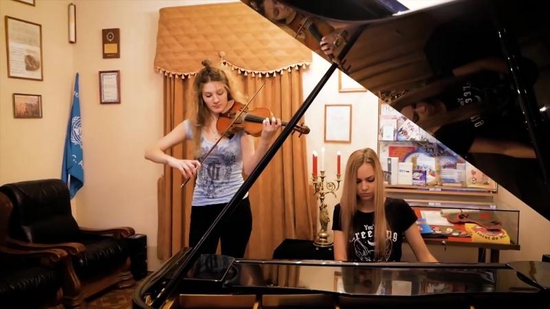 Король и Шут - Воспоминания о былой любви _ кавер на пианино и скрипке