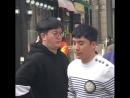 19.04.18 Сынни на открытии Aori Ramen в Пучхоне, Корея