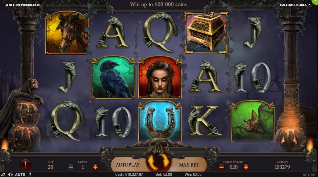 Вулкан: Игровые автоматы Halloween Jack