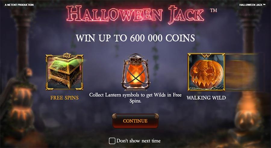 игровые автоматы Halloween Jack