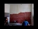 кирпичи клеим стенку быстро mp4
