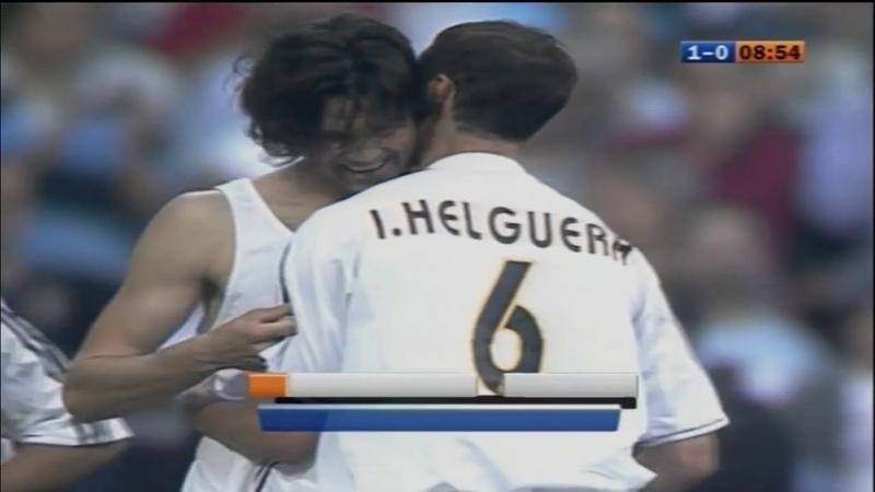 Реал Мадрид 1 2 Барселона Чемпионат Испании 2003 2004 34 тур