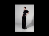 Evening dress Black Feathers from new collection by Bellezza e Lusso Вечернее платье Black Feathers из новой коллекции