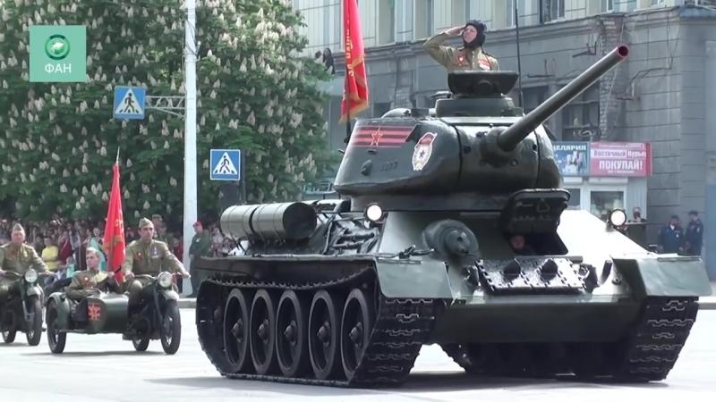 ЛНР показала свою военную мощь на параде Победы в Луганске
