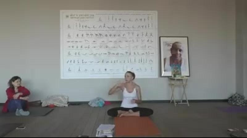 Наталья Сенина - 3-я конференция по аштанга йоге