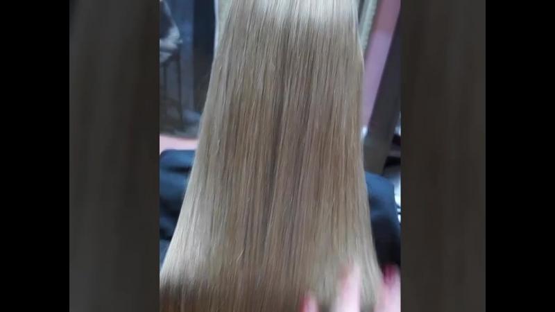 Растяжка цвета на натуральные волосы Estel Haute Couture