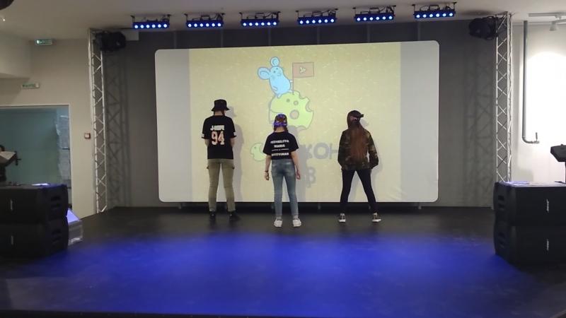 3-pop BTS — mic Drop cover dance