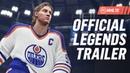 NHL 19 Hockey Legends ft Gretzky Lemieux Messier Selanne Forsberg Beliveau