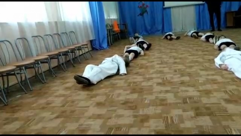 Открытый урок по Каратэ Детский сад 234 Тренер Гиголян Оганэс Суренович