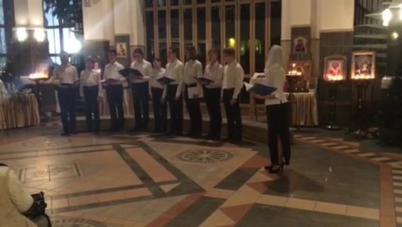 Мужской молодёжный хор Дома Милосердия - Рождество Христово