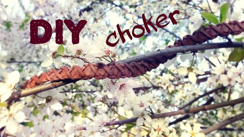 Braided Choker DIY Tutorial I Process Timelapse