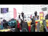 Выступление на открытии первого мурманского фестиваля #гонкикартонки