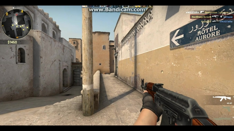 Cs:go -4 headshots AK-47
