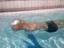 Пример тренировки по плаванию