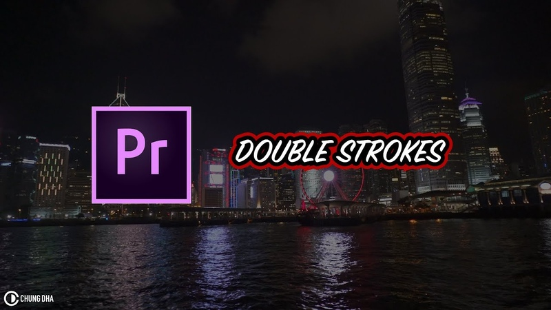 Double Strokes Text Adobe Premiere Pro Tutorial by Chung Dha