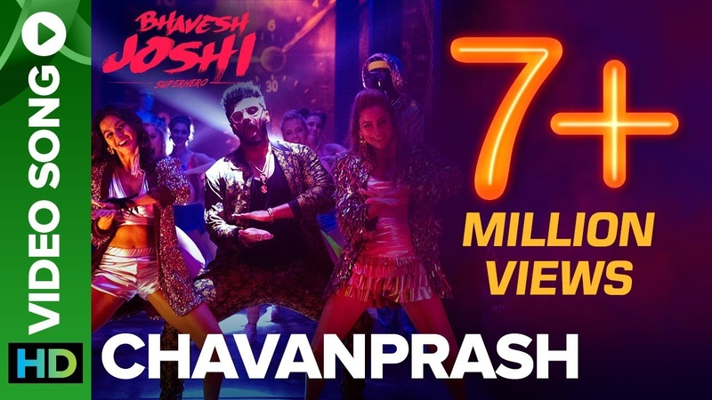 Chavanprash Video Song ft. Arjun Kapoor Harshvardhan Kapoor | Bhavesh Joshi Superhero | 1st June