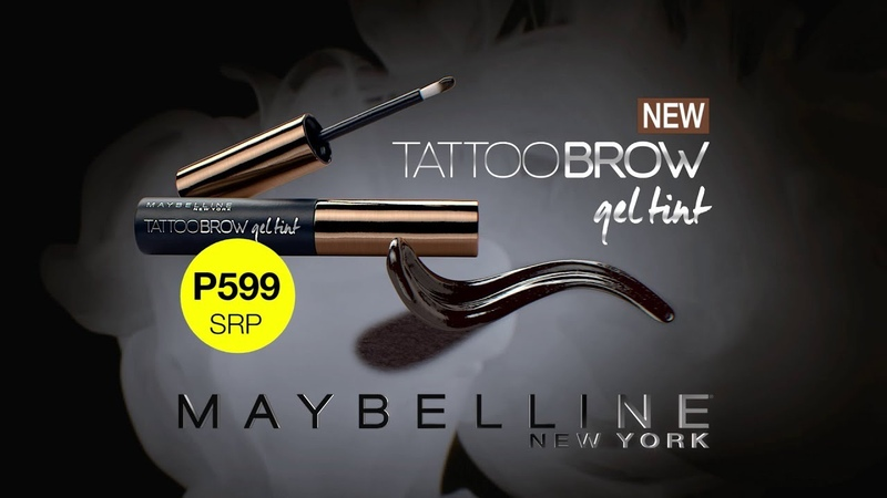 Brow Makeup Maybelline Tattoo Brow Gel Tint