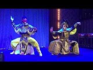 Taiko in-Spiration kungfu show taiji