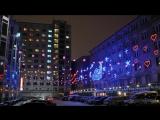 Прекрасное видео с ночным, довоенным Донецком....
