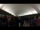 Питерское новогоднее метро