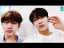 VIDEO 180712 Юндон и Оун @ Трансляция в Vapp