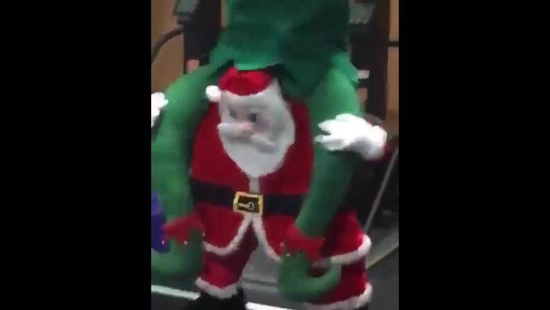 Рождественская шутка от кроссфитеров