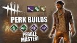 PEBBLE MASTER! Dead By Daylight NINJA SURVIVOR PERK BUILDS