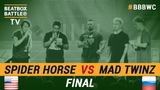 Mad Twinz vs Spider Horse - Tag Team Final - 5th Beatbox Battle World Championship
