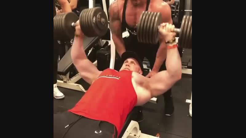 Бешеная тренировка грудных