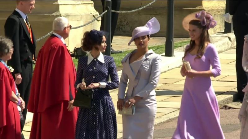 Royal Wedding Priyanka Chopra arrives at the chapel
