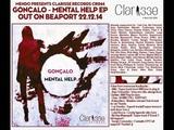Gonçalo - Mental Help (Original mix) [Clarisse Records CR044] 96 kbps