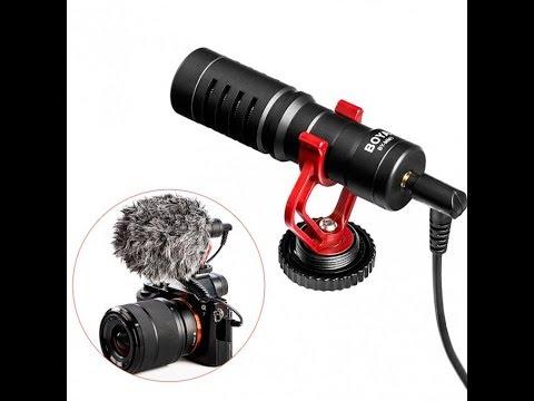 Накамерный микрофон Boya BY-MM1 тест