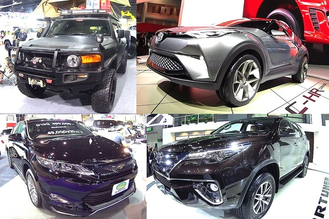TOP 7 2016, 2017 Toyota SUVs Land Cruiser 200, Prado, FJ Cruiser, Hilux, Revo, Harrier, RAV4