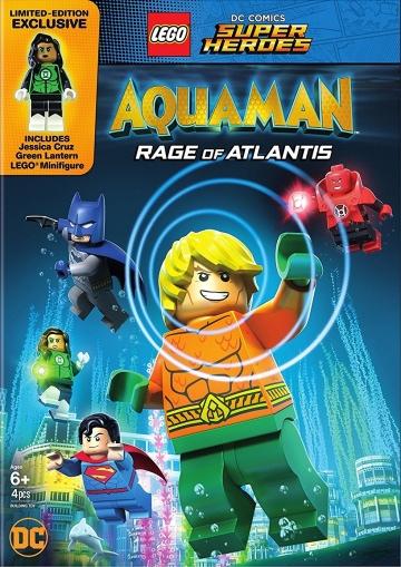 LEGO DC Comics Супер герои: Аквамен - Ярость Атлантиды / LEGO DC Comics Super Heroes: Aquaman - Rage of Atlantis (2018) смотреть онлайн