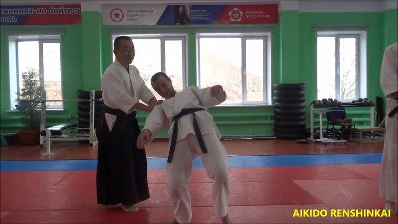 Семинар Сокэ Чиды Сэнсэя в Петропавловске-Камчатском